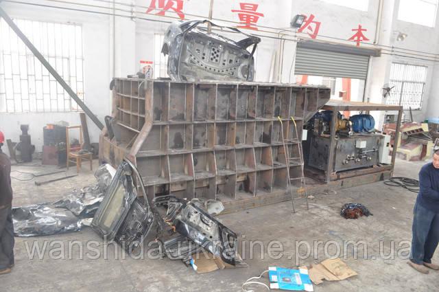 предпродажные испытания контейнерных ножниц на заводе Ваншида