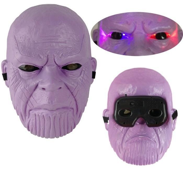 Маска супергероя Таноса (светится)