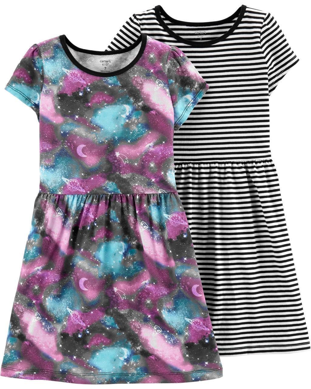 Качественные трикотажные платья Картерс для девочки (поштучно)