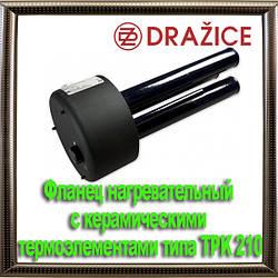 Фланец нагревательный с керамическими термоэлементами типа TPK 210–12/8–12kW
