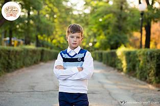 Дитячий жилет для хлопчика Шкільна форма для хлопчиків Byblos Італія BU0918 Білий