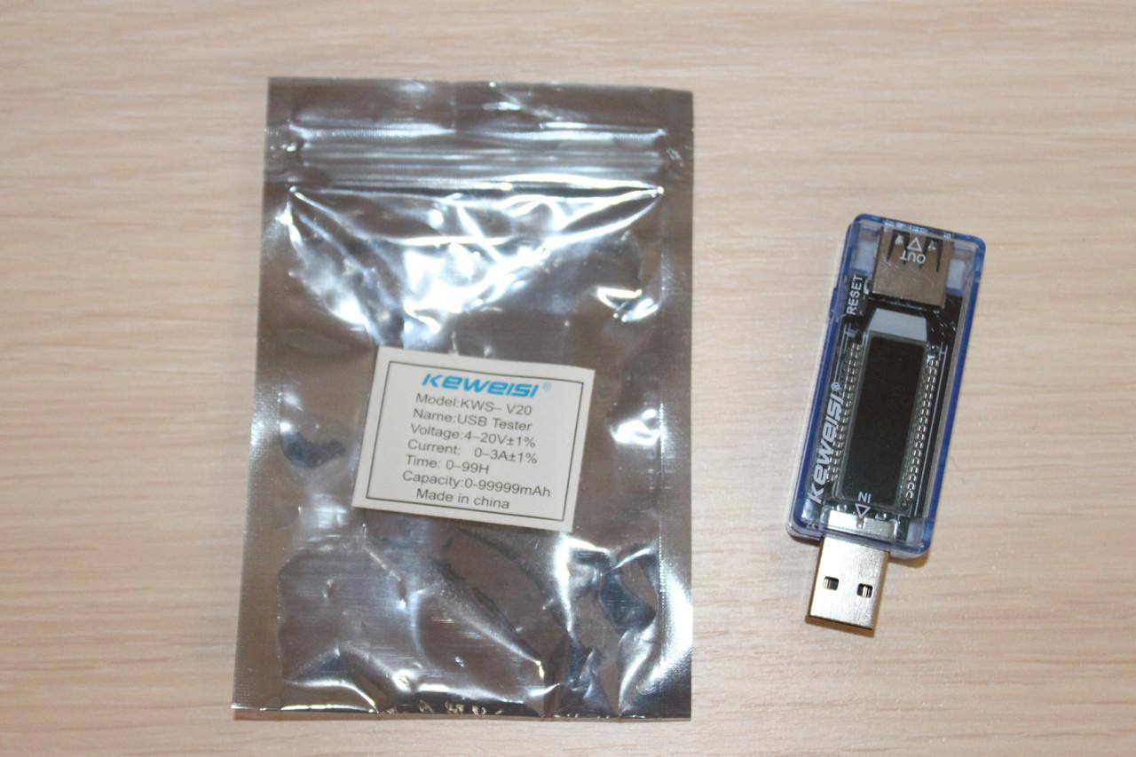 Вольтметра-Амперметр USB-Тестер (KWS-V20)