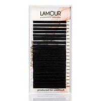 Lamour Ресницы черные MIX толщина 0,03 Лямур