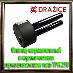 Фланец нагревательный с керамическими термоэлементами типа TPK 210–12/3–6kW