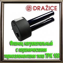 Фланец нагревательный с керамическими термоэлементами типа TPK 168–8/2,2kW