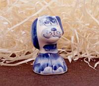 9380376 Фигурка керамическая Собака Нашийник