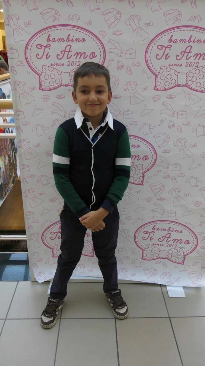 Детские брюки для мальчика Antonio Morato Италия MKTR00020 синий