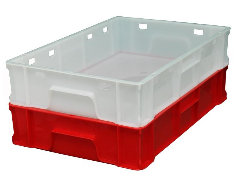 Пластиковый ящик 600х400х120 мм