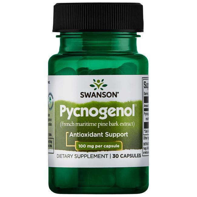 Пикногенол, 100 мг 30 капсул