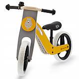 Велобег деревянный Kinderkraft Uniq жёлтый, фото 2