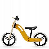 Велобег деревянный Kinderkraft Uniq жёлтый, фото 4