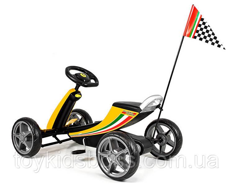 Детский вело-мобиль Chi Lok Bo Toys GOKART FERRARI