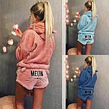 Махровая пижама с шортами, фото 7