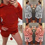 Махровая пижама с шортами, фото 5