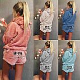 Махровая пижама с шортами, фото 4