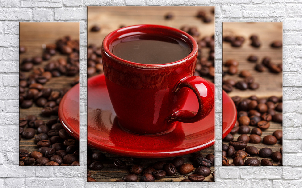 "Модульная картина на холсте ""Чашечка кофе 3"""