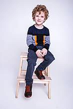 Демисезонные детские джинсы для мальчика ASTON MARTIN Италия AJBI6240PA, серые,