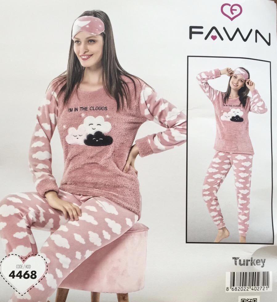 Махра Софт Пижама женская с повязкой