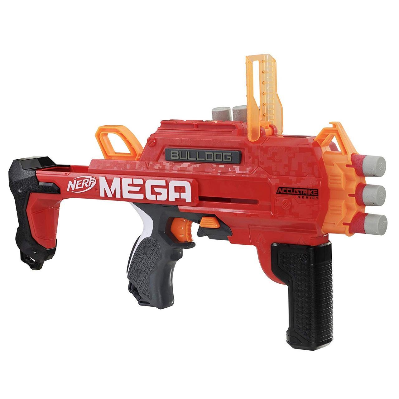 Бластер Нерф Мега Бульдог NERF Accustrike Mega Bulldog Toy