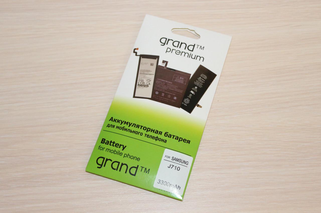 Аккумулятор Grand Premium Samsung J710 (100%)