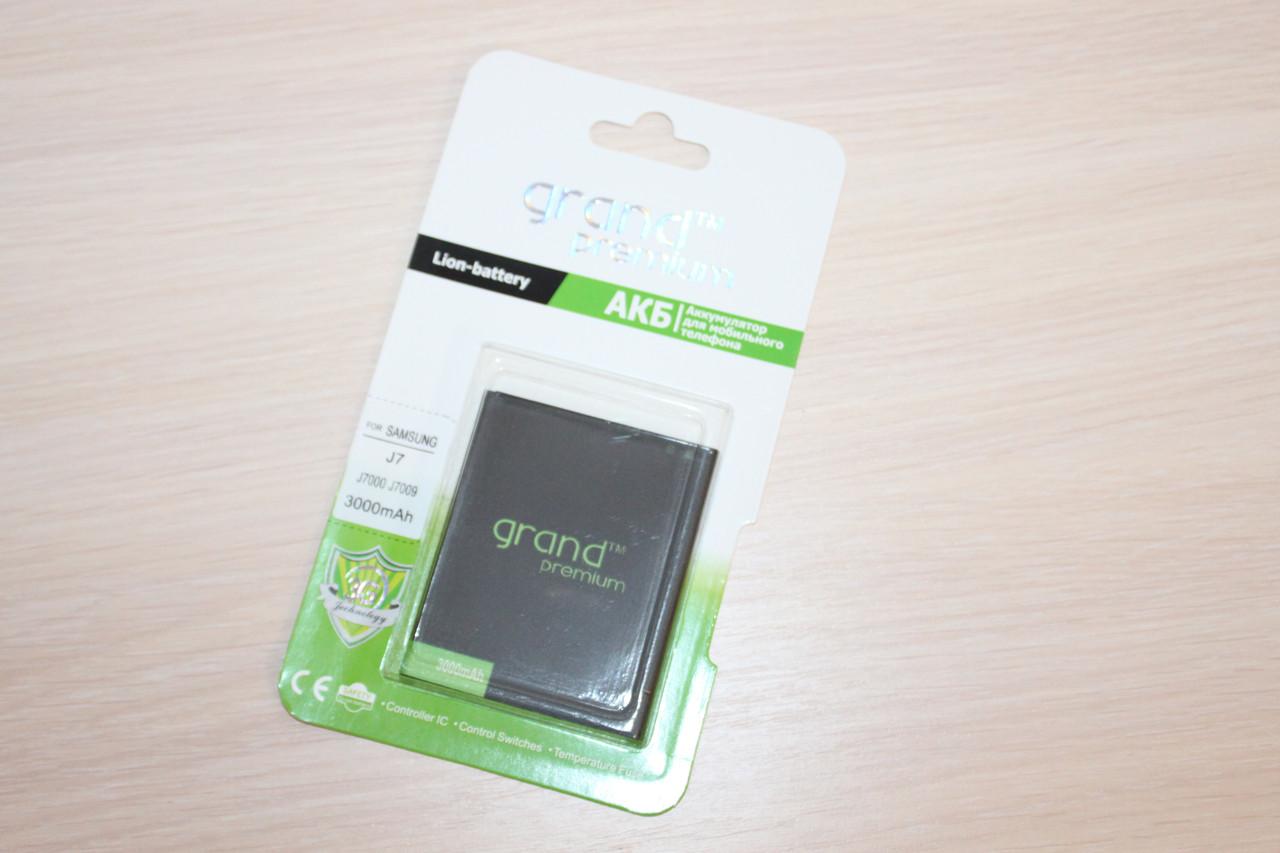 Аккумулятор Grand Premium Samsung J7 / J700 (100%)