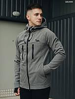 Куртка мужская демисезонная Staff softshell gray