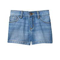 Голубые джинсовые шорты Gymboree Джимбори для девочки