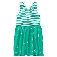 Детское летнее платье с открытой спинкой Gymboree для девочки