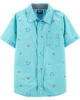 Детская рубашка с коротким рукавом ОшКош для мальчика