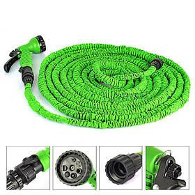 Поливочный шланг X-hose 15 метров зеленый