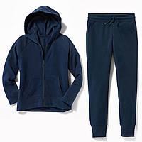 Синий спортивный костюм на флисе Олд Неви Old Navy для девочки