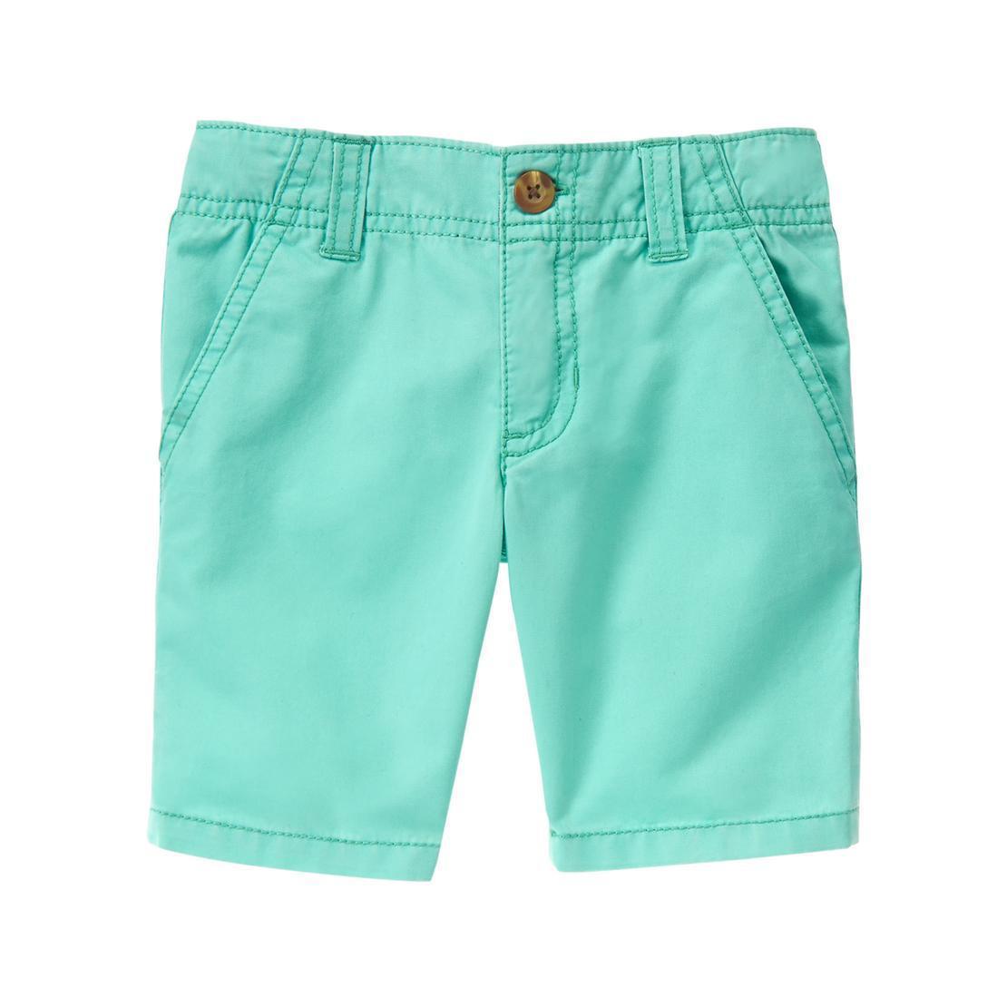 Детские бирюзовые шорты из твила Crazy8 для мальчика