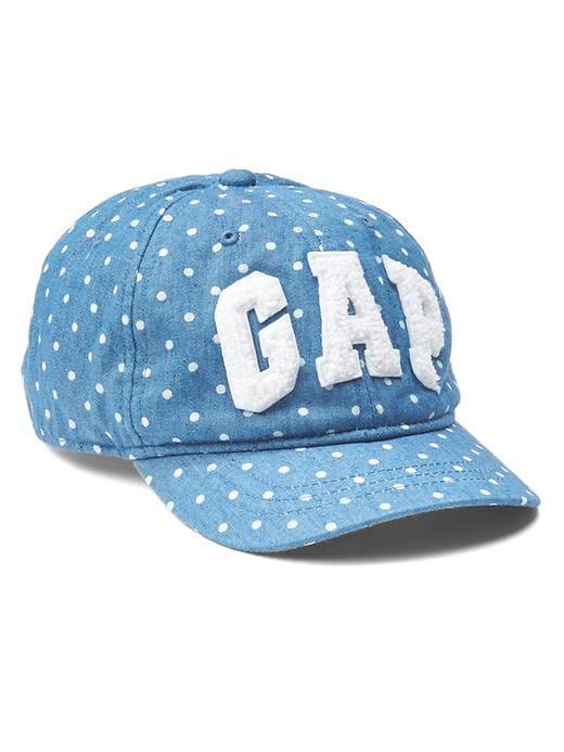 Детская кепка в горошек GAP для девочки
