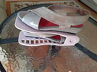 Двойная стойка подставка для хранения обуви, подставка под обувь Shoe Slotz Эко, фото 1