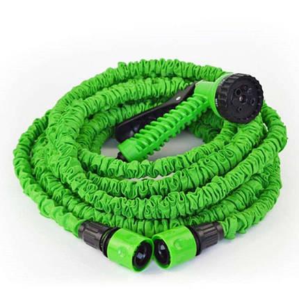 Поливочный шланг X-hose 7,5 метров зеленый, фото 2