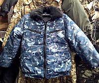 "Зимний бушлат ""охрана город"". Для работников охранных структур., фото 1"