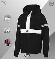 Мужская куртка Puma XTG Savannah (Premium-class) Черный/Белый