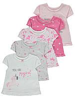 Симпатичные детские летние футболочки Джордж для девочки (поштучно)