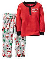 Детская пижама с флисовыми штанами  Картерс для малышей