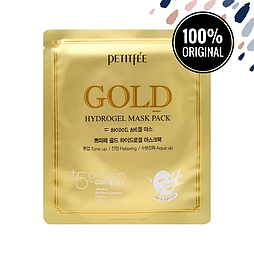 Гидрогелевая маска для лица с золотым комплексом PETITFEE Gold Hydrogel Mask