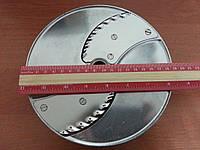 Диск POM2 для овочерізки Robot Coupe CL50, 52, 55, 60 слайсер хвилястий 2 мм (27068), фото 1