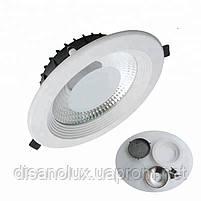 Светодиодный светильник Downlight DL-30Q  LED COB  30w 6000K 220v, фото 5