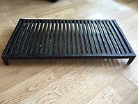 Чугунная решетка гриль для барбекю и мангала на ножках. Размеры 53 см х 28 см.