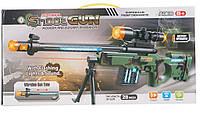 Снайперская винтовка батар., свет, звук, в кор. 43*22*4см (36шт/2) (5503)