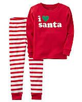 Новогодняя пижама Carters Картерс для мальчика