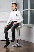 Демисезонные детские джинсы для мальчика ASTON MARTIN Италия AJJ6282PA Серый