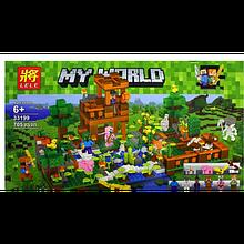 """Конструктор Lele Minecraft """"Рыбалка на озере"""" арт. 33199 (705 деталей)"""