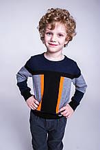 Детский пуловер для мальчика ASTON MARTIN Италия AJBI6224MA Черный
