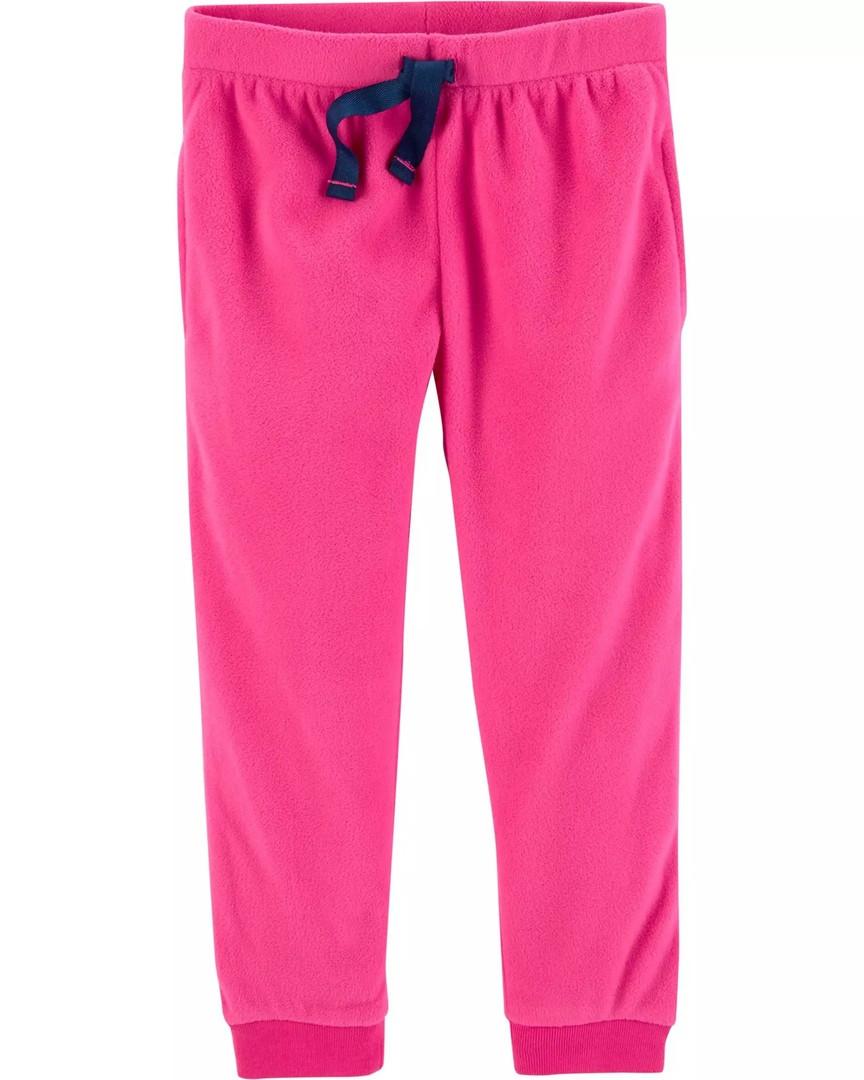 Дитячі однотонні теплі штанці Картерс для дівчинки