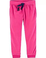 Детские однотонные теплые штанишки Картерс для девочки